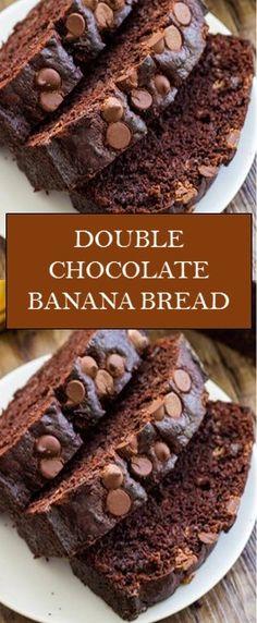 Mini Desserts, Just Desserts, Delicious Desserts, Dessert Recipes, Yummy Food, Pound Cake Recipes, Banana Bread Recipes, Chocolate Chip Banana Bread, My Best Recipe