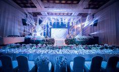 A dreamy environment theme decor for Mehak and Deepak's reception. Photos Courtesy - Parag Gopale