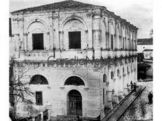 Η Λότζια με τον όροφο, πριν την κατεδάφισή του Heraklion Crete, Crete Island, Simple Photo, Old Maps, Local History, The Locals, Notre Dame, Vintage Photos, The Past