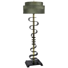 1stdibs | Acrylic and Brass Floor Lamp