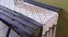 Boho table runner – Gava Crochet Love