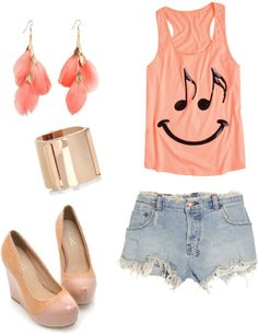 """""""Happy Music"""" by istalkfashion ❤ liked on Polyvore"""