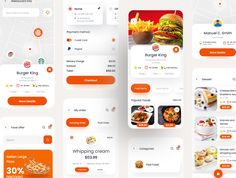 FoodKo - Food Delivery Ui Kit Food Delivery UI Kit For Figma & Adobe XD #Advertisement, #Food, #Ad, #FoodKo, #Delivery, #Kit App Ui Design, Mobile App Design, Delivery App, Delivery Food, Mobile Restaurant, Android Ui, App Design Inspiration, Mobile App Ui, Ui Kit