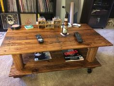 Wooden Pallet Made Table Ideas