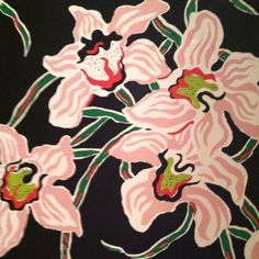 Dorothy Draper, not sure if this is wallpaper or fabric Textile Patterns, Textile Prints, Print Patterns, Art Prints, Motif Floral, Art Floral, Floral Prints, Art And Illustration, Motif Kimono