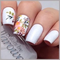 21 Fresh And Fabulous Nail Art Designs Just In Time For Spring | Playbuzz #nailart