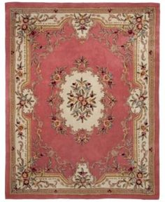 Kenneth Mink Majesty Aubusson Rose x Area Rug Aubusson Rugs, Clearance Rugs, 8x10 Area Rugs, Traditional Rugs, Rugs Online, Macy's Online, Contemporary Rugs, Rugs On Carpet, Carpets