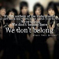 Black Veil Brides Lyrics• by silencelucker on Pinterest | Black ...
