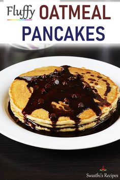 Egg recipes - Collection of 52 anda recipes - Swasthi's Recipes Oats Recipes, Egg Recipes, Cooking Recipes, Pancake Recipes, Fluffy Gluten Free Pancake Recipe, Best Breakfast Recipes, Vegetarian Breakfast, Breakfast Bake, Breakfast Ideas