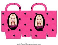 barbie bag Children's Room: Barbie's Party Kit to Print. Barbie Theme Party, Barbie Birthday Party, Party Themes, Box Template Printable, Printable Planner Stickers, Paper Doll House, Paper Dolls, Barbie Cake, Barbie Dolls