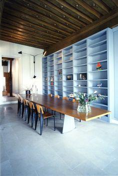 A glimpse inside the Paris home of Italian architects Massimiliano and Doriana Fuksas