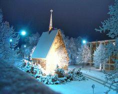 Church- Finland in Winter