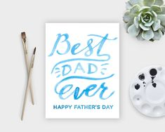 watercolor fathers day printables - HD1500×1200