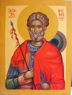 Mina by Andrei Mircea Orthodox Icons, Saints, Sf