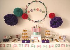 Id es d co anniversaire on pinterest balloons kid birthdays and sweet tables - Deco anniversaire enfant ...