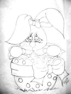 Coelho ovo Donkey Kong Country, Painting Templates, Easter Coloring Pages, Easter Projects, Country Paintings, Pyrography, Fabric Painting, Line Drawing, How To Draw Hands