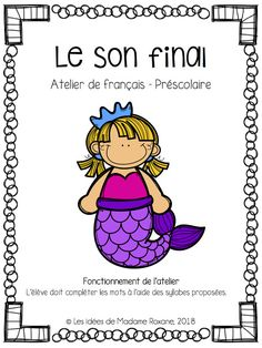 French Course, Literacy Centres, French Resources, Teaching Aids, Conscience, France, Sons, Communication, Preschool
