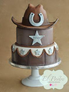 Cowboy cake by elpostrecakes