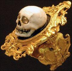 ☆ A Codognato Skull Ring ☆                                                                                                                                                                                 More