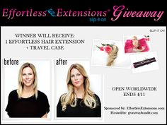 New Age Mama: Effortless Extensions #Giveaway