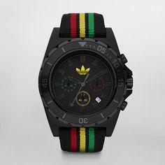 Addidas: Rasta Stockholm Price: $115.00 | Mens Designer Watch | My kind of gift to my partner, my styleee!