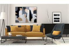 Neutral Series, by Tricia Strickfaden. Mixed media on canvas www.tsmodernart.com Mixed Media Canvas, Original Art, Neutral, Abstract Art, Couch, The Originals, Modern, Furniture, Home Decor