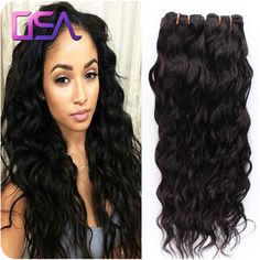 Brazilian Virgin Hair Water Wave 4Bundles Lot VIP Beauty Hair Wet and Wavy Virgin Brazilian Hair Weave OSA Virgo Hair Company