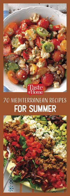 70 Mediterranean Recipes That'll Brighten Up Your Summer