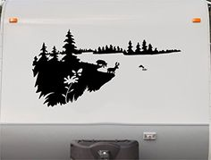Mountains Deer Lake Pine Tree RV Camper Vinyl Decal Stick... https://www.amazon.com/dp/B01IGBVD28/ref=cm_sw_r_pi_dp_s9dIxbKHTA6DH