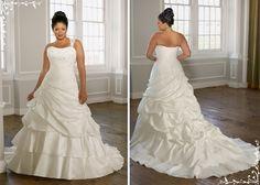 Lindos vestidos de noiva plus size | Sua Cara Seu Estilo