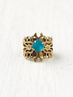 #Free People              #ring                     #Free #People #Filagree #Stone #Ring                Free People Filagree Cut Stone Ring                                           http://www.seapai.com/product.aspx?PID=1593033