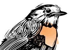 Create a Set of Art Brushes You Can Use to Make a Linocut-style Illustration
