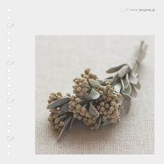 Вязаные цветы от Jung Jung | Jung Jung Knit Flowers