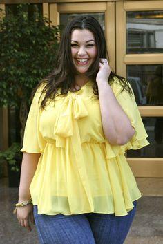 The Kara Blouse - Yellow