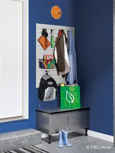 Entryway Storage & Organization | Cornerstone Closets - Maryland areas including, but not limited to, Baltimore, Ellicott City, Columbia, Rockville, Mt. Airy, Frederick, Gaithersburg, Towson, Lutherville, Upper Marlboro, Annapolis, Bel Air, and White Marsh