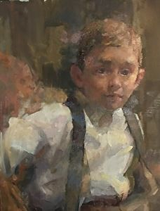 Asher by Michael Maczuga in the FASO Daily Art Show