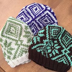 This pattern makes a warm, fast, and fun fair isle hat.