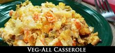 Veg-All Casserole Recipe : Taste of Southern Veg All Casserole, Casserole Recipes, Vegetable Casserole, Cream Of Celery Soup, Cream Of Chicken Soup, Vegetable Side Dishes, Vegetable Recipes, Great Recipes, Dinner Recipes