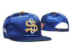 Men's Stussy Big League Big S Star Spangled Banner Embroidery Fashion Baseball…