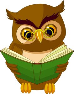 Illustration about Fully editable illustration of a cartoon wise owl. Illustration of cheerful, wisdom, education - 14633634