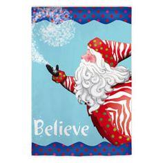 Do you believe in Santa...we do! (http://www.flagcenter.com/believe-in-santa-flag/)