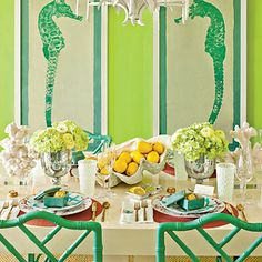 The Glam Pad: Southern Living Goes Palm Beach Chic