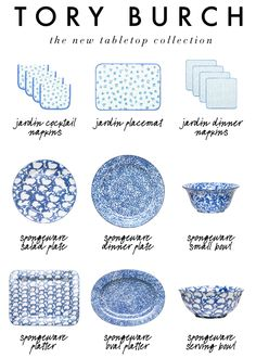 the new tabletop collection from Tory Burch