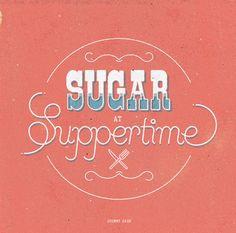 Sugar Type by Radio , via Behance