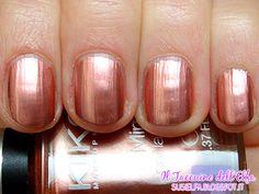 Il Taccuino dellElfa: Mirror Nail Lacquer 629 Rame Kiko