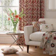 Clarke and Clarke -  Kashmir Fabric Collection -