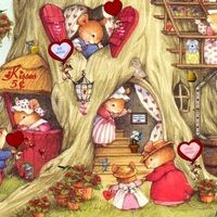 Mouse house love