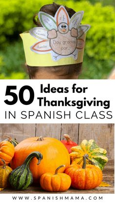 Thanksgiving in Spanish: a huge collection of classroom ideas and resources, for the home or classroom! Find books, songs, printables, games, videos and more.     #thanksgiving #spanishclass #spanishteachers #spanishresources via @eealvarado Spanish Teacher, Spanish Class, Spanish Lessons, Teaching Spanish, French Lessons, Teaching French, Preschool Spanish, Spanish Activities, Vocabulary Activities