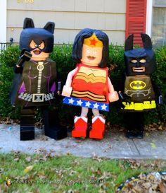 Lego Superheroes Group Costume