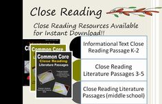 How to do a Close Reading of Text
